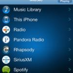 Sonos plays local iOS music