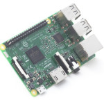 Raspberry Pi 3 with WiFi and Bluetooth